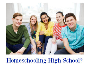 A Homeschooling High School Webinar That's Practical & Affordable