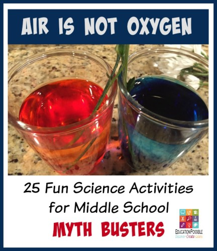 Air is Not Oxygen - Fun Science Activities for Middle School - Education Possible.com