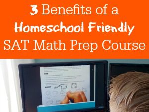 Want a Homeschool Friendly SAT Math Prep Course? Just when our family settled into homeschooling high school, the next big hurdle began creeping up on us — college entrance exams! Math has always been a challenge in our homeschool so we knew we would need some extra help preparing for the math portion of the exams. After doing our research we found the most effective option to be a live online SAT math prep course. It has lots of activities to help with mastering the test.