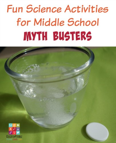 Variables Worksheets For Middle School Science Fun : Fun science activities for middle school myth busters