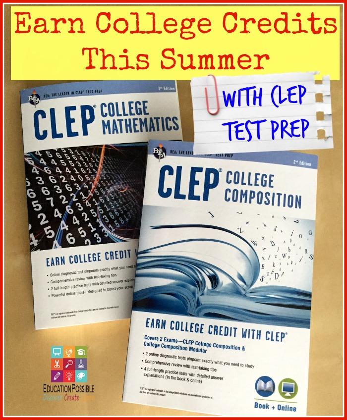 Earn College Credit with CLEP Test Prep - Education Possible
