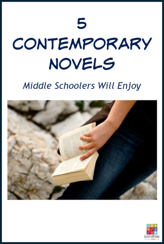 Books Written by Living Authors That Preteens/ Teens Will Want to Read.  I try to give my kids a wide variety of reading material throughout the year and I always include books by contemporary authors. If your middle schooler doesn't normally read contemporary novels, have them give one of these a try.