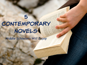5 Contemporary Novels Middle Schoolers Will Enjoy