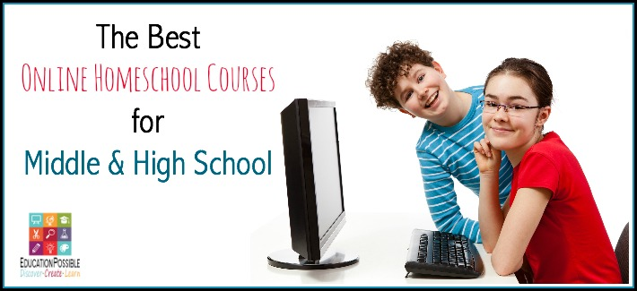 There are many reasons for selecting online homeschool courses – to help students pursue an academic interest or passion, to introduce students to different teachers and teaching styles, to best fit a student's learning style or schedule, etc. Since the world is our classroom, online courses are perfect for middle & high school kids learning at home.