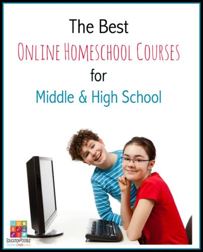 Best Online Homeschool Courses for Middle & High School - Education Possible