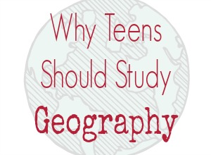Why Teens Should Study Geography