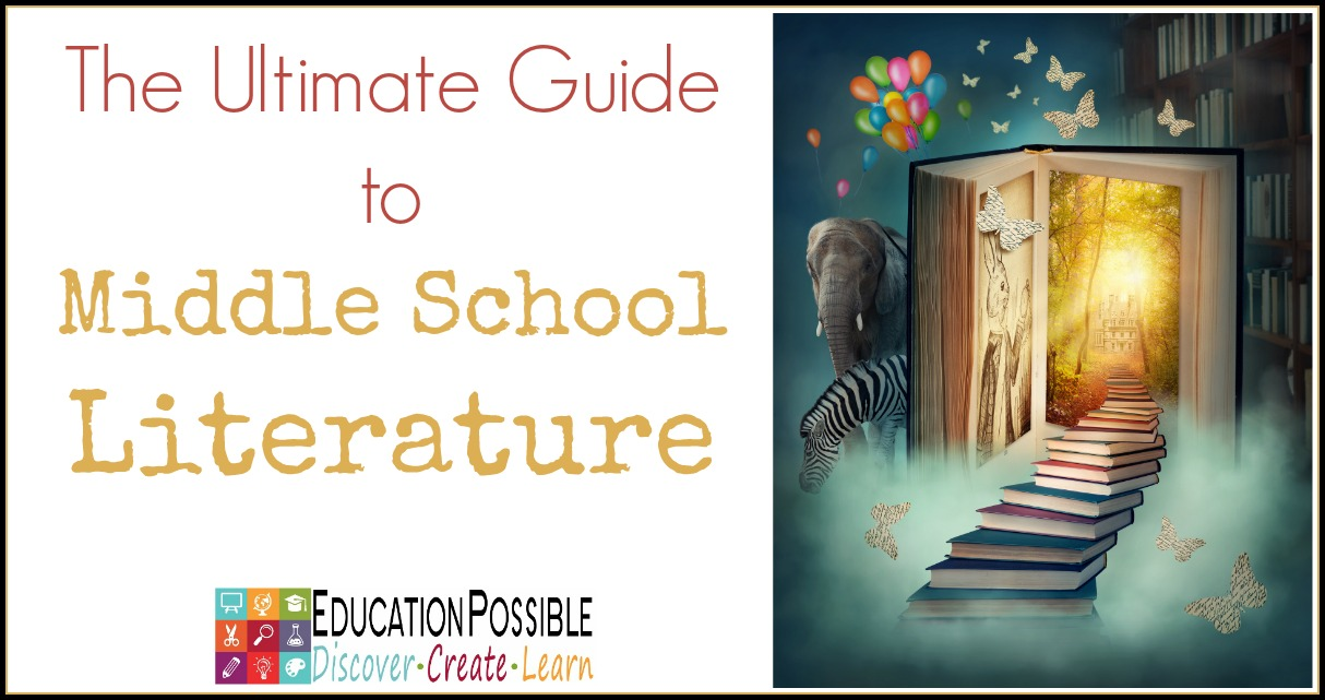 The Ultimate Guide to Middle School Literature