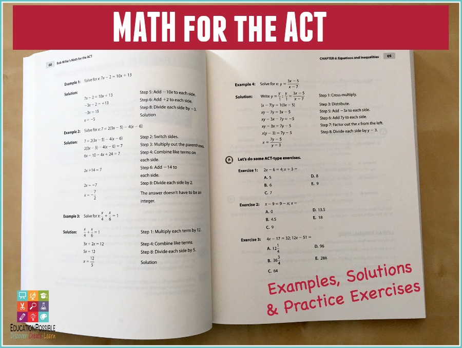 Math for the ACT