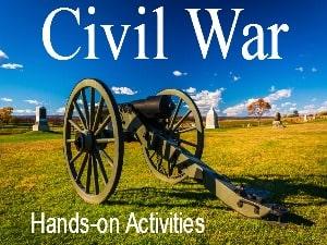 Civil War Hands-on Activities for Kids