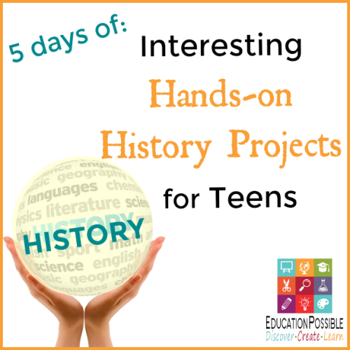 Very few middle school kids want to sit down and only read about history from a dry textbook. They want to get their hands dirty, build stuff, and really get a sense of what it was like to live during the time periods they're studying. Don't make history boring - use hands-on projects and activities to make history fun. A week of fun and interactive ideas for middle school history.
