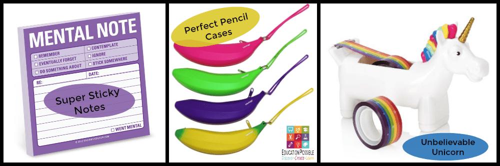 Unique School Supplies Homeschoolers Will Love