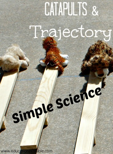 Simple Science Catapults and Trajectory