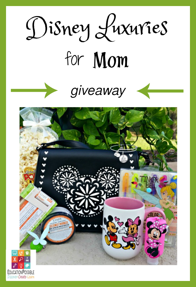 Win This Amazing Collection of Disney Luxuries for Mom