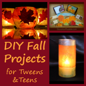 DIY Fall Projects for Tweens and Teens