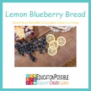 Cooking is one of the life skills I'm constantly working on with my girls. This lemon blueberry bread recipe is easy to make and it's so delicious!