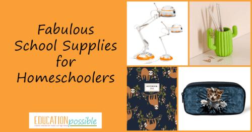 Fun School Supplies for Tweens & Teens