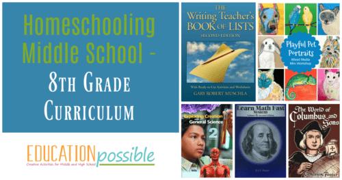 8th Grade Homeschool Curriculum Choices