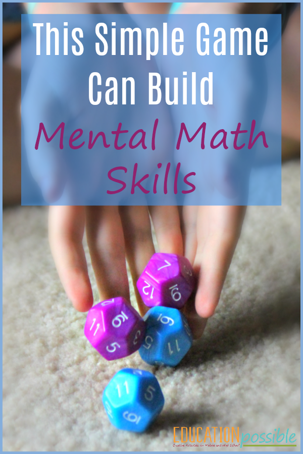 This Fun and Simple Math Game will Improve Mental Math Skills
